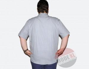 büyük beden erkek kareli gömlek