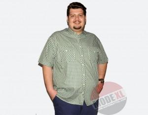 büyük beden erkek gömlek kareli