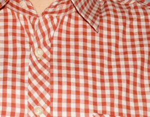 büyük beden erkek gömlek kırmızı kareli